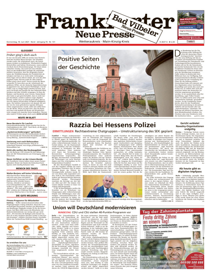 Bad Vilbeler Neue Presse vom Donnerstag, 10.06.2021