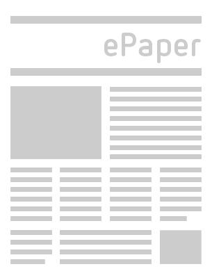 Usinger Neue Presse vom Mittwoch, 15.09.2021